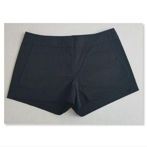 J. Crew Black Stretch Twill Casual Shorts Sz 4